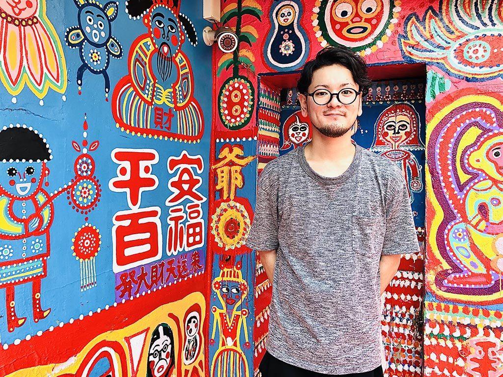彩虹眷村 - Rainbow Village -でパシャリ