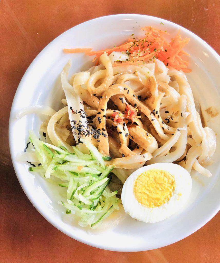 胡麻刀削麺
