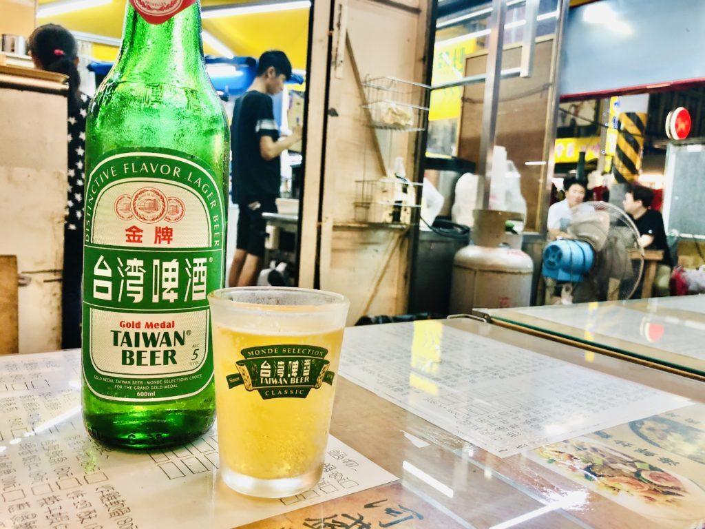 台湾ビールで乾杯!