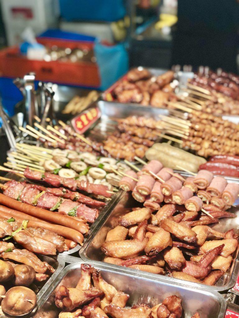 台湾の串焼き